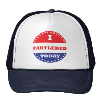 I Fartleked Today Trucker Hat