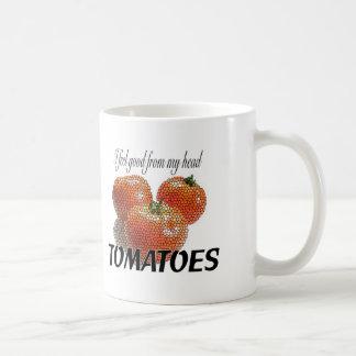 I feel good from my head TOMATOES (to-ma-toes) Classic White Coffee Mug