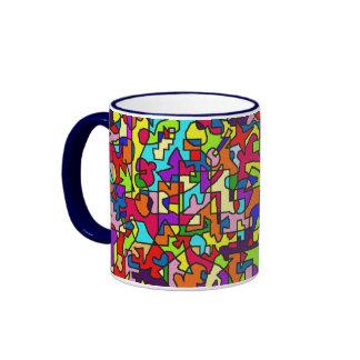 I feel good - property mood cup ringer mug