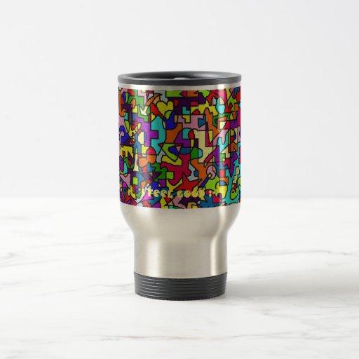 I feel good - thermal cup coffee mugs