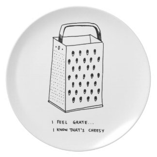 I Feel Grate Party Plates