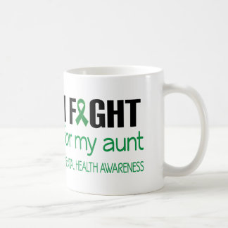 I Fight For My Aunt Mental Health Awareness Coffee Mug