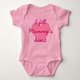I fill Mommy's Heart Baby Shirt