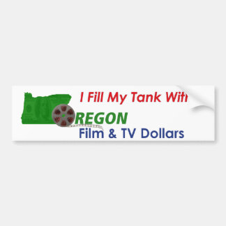 I Fill My Tank Bumper Sticker