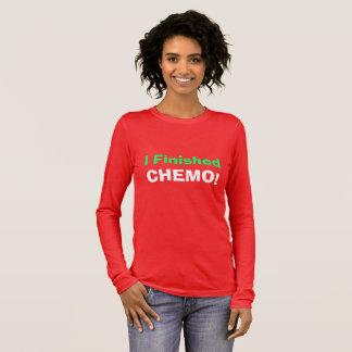I Finished Chemo! Hooray! Long Sleeve T-Shirt