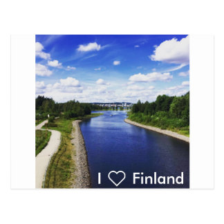 I ❤️ Finland Postcard