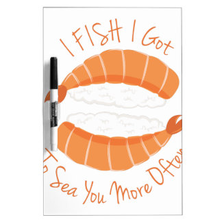 I Fish Dry Erase Whiteboards
