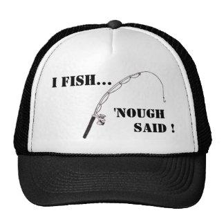 I Fish Hat