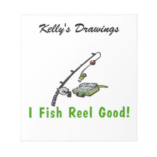 I Fish Reel Good Notepads