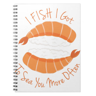 I Fish Spiral Notebook