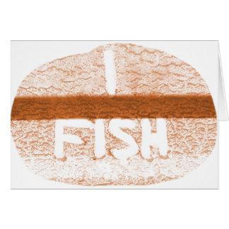 I Fish  'Tailgate Talk' Greeting Card