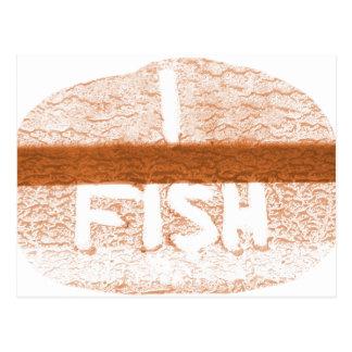 I Fish  'Tailgate Talk' Postcard