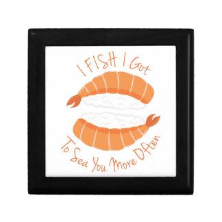 I Fish Trinket Box