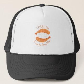 I Fish Trucker Hat
