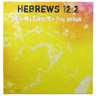 I Fix My Eyes To You JESUS B Napkin