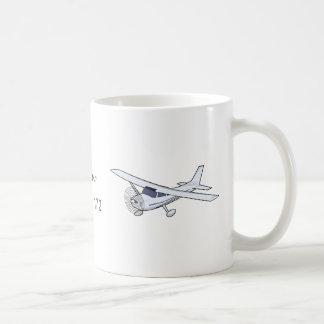 I flew cessna 172 mug