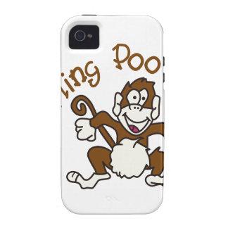 I Fling Poo Case-Mate iPhone 4 Cases