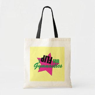 I Flip for Gymnastics Shirt Tote Bag