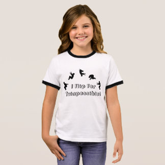I Flip For Twinpossible T-Shirt! Ringer T-Shirt