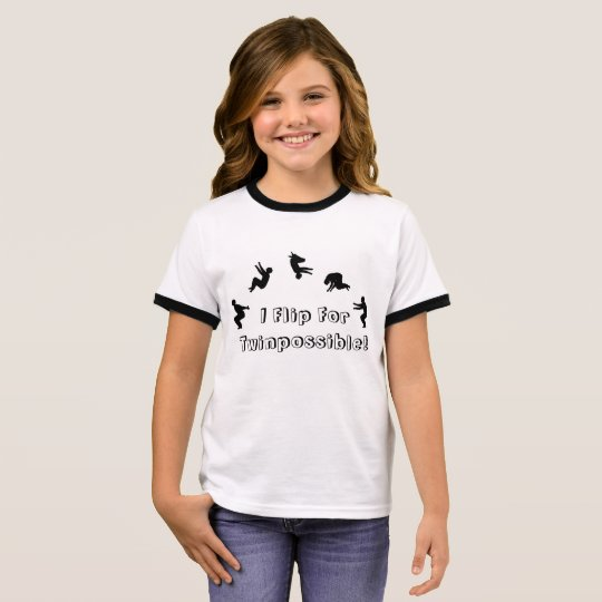 I Flip For Twinpossible T-Shirt! Ringer T-Shirt