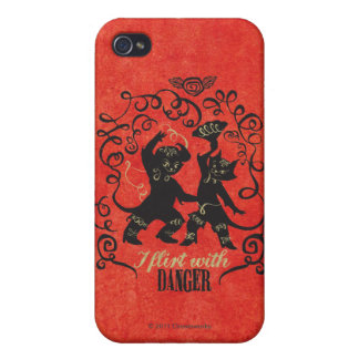 I Flirt With Danger 2 iPhone 4/4S Cover