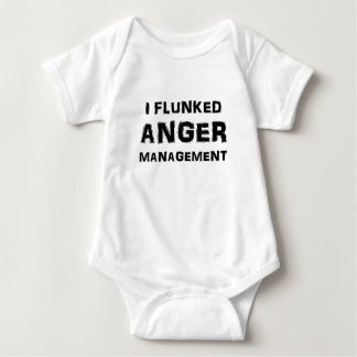 I Flunked Anger Management Baby Bodysuit