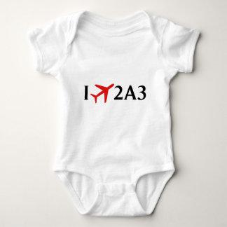 I Fly 2A3 - Larsen Bay Airport, Larsen Bay, AK Baby Bodysuit