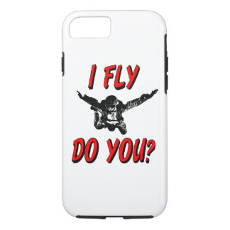 I Fly, Do You? (blk) Case-Mate iPhone Case