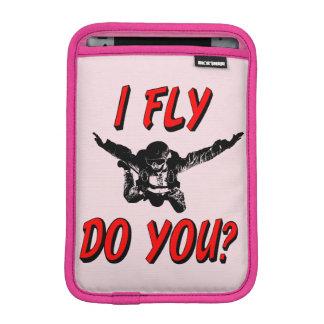 I Fly, Do You? (blk) iPad Mini Sleeve