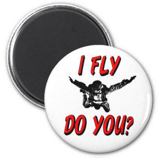 I Fly, Do You? (blk) Magnet