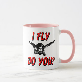 I Fly, Do You? (blk) Mug