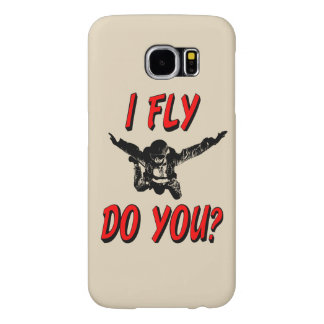I Fly, Do You? (blk) Samsung Galaxy S6 Cases