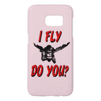 I Fly, Do You? (blk) Samsung Galaxy S7 Case