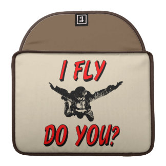 I Fly, Do You? (blk) Sleeve For MacBook Pro