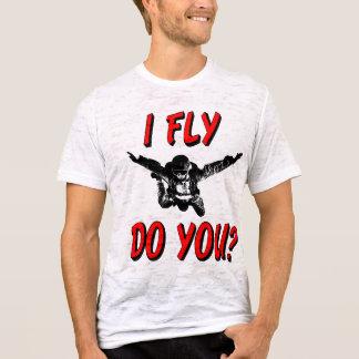 I Fly, Do You? (blk) T-Shirt