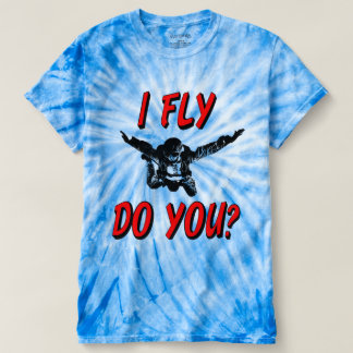 I Fly, Do You? (blk) T-shirt