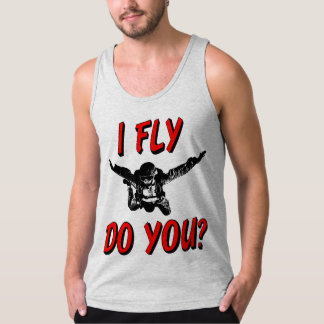 I Fly, Do You? (blk) Tank Top