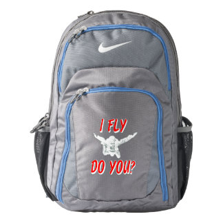 I Fly, Do You? (wht) Backpack