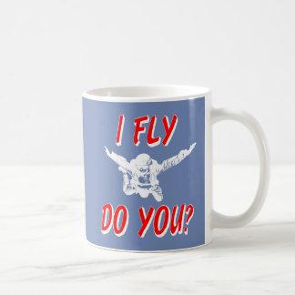 I Fly, Do You? (wht) Coffee Mug