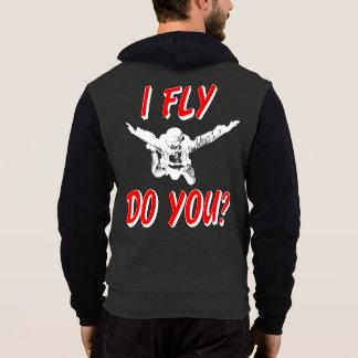 I Fly, Do You? (wht) Hoodie
