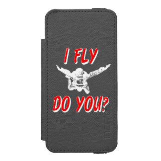 I Fly, Do You? (wht) Incipio Watson™ iPhone 5 Wallet Case