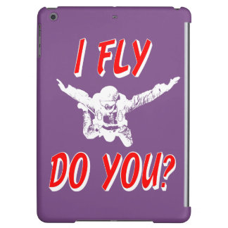 I Fly, Do You? (wht) iPad Air Cover