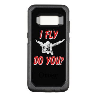I Fly, Do You? (wht) OtterBox Commuter Samsung Galaxy S8 Case