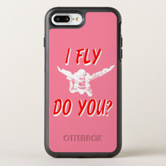 I Fly, Do You? (wht) OtterBox Symmetry iPhone 8 Plus/7 Plus Case