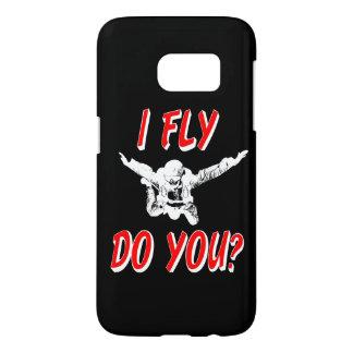 I Fly, Do You? (wht) Samsung Galaxy S7 Case
