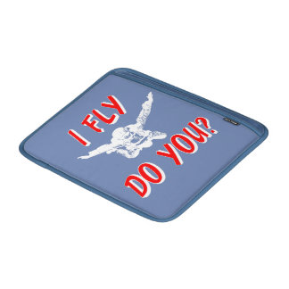 I Fly, Do You? (wht) Sleeve For MacBook Air