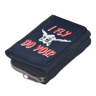 I Fly, Do You? (wht) Wallets
