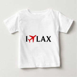 I Fly LAX - Los Angeles International Airport Baby T-Shirt