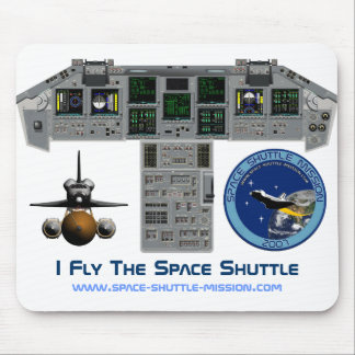 I Fly The Space Shuttle, Cockpit, Mousepad