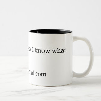 I follow FNC because I know... Two-Tone Coffee Mug
